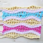 Crochet Stitch Lace Ripples