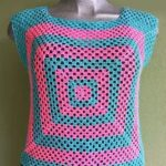 Crochet Square Sweater