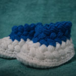 Crochet Puff Booties