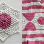 Crochet Puff Stitch Hexagon