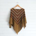 Crochet Arrow Shawl