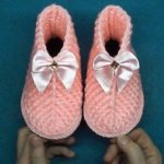 Crochet Leaf Shoes