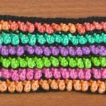 Honey Drops Crochet Stitch