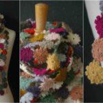 Crochet Blossom Scarf