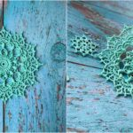 Crochet Holly Decoration