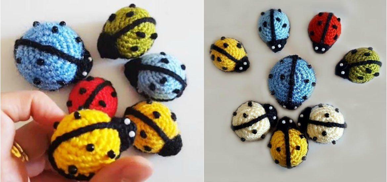 Amigurumi doll in ladybug costume - Amigurumi Today   550x1170