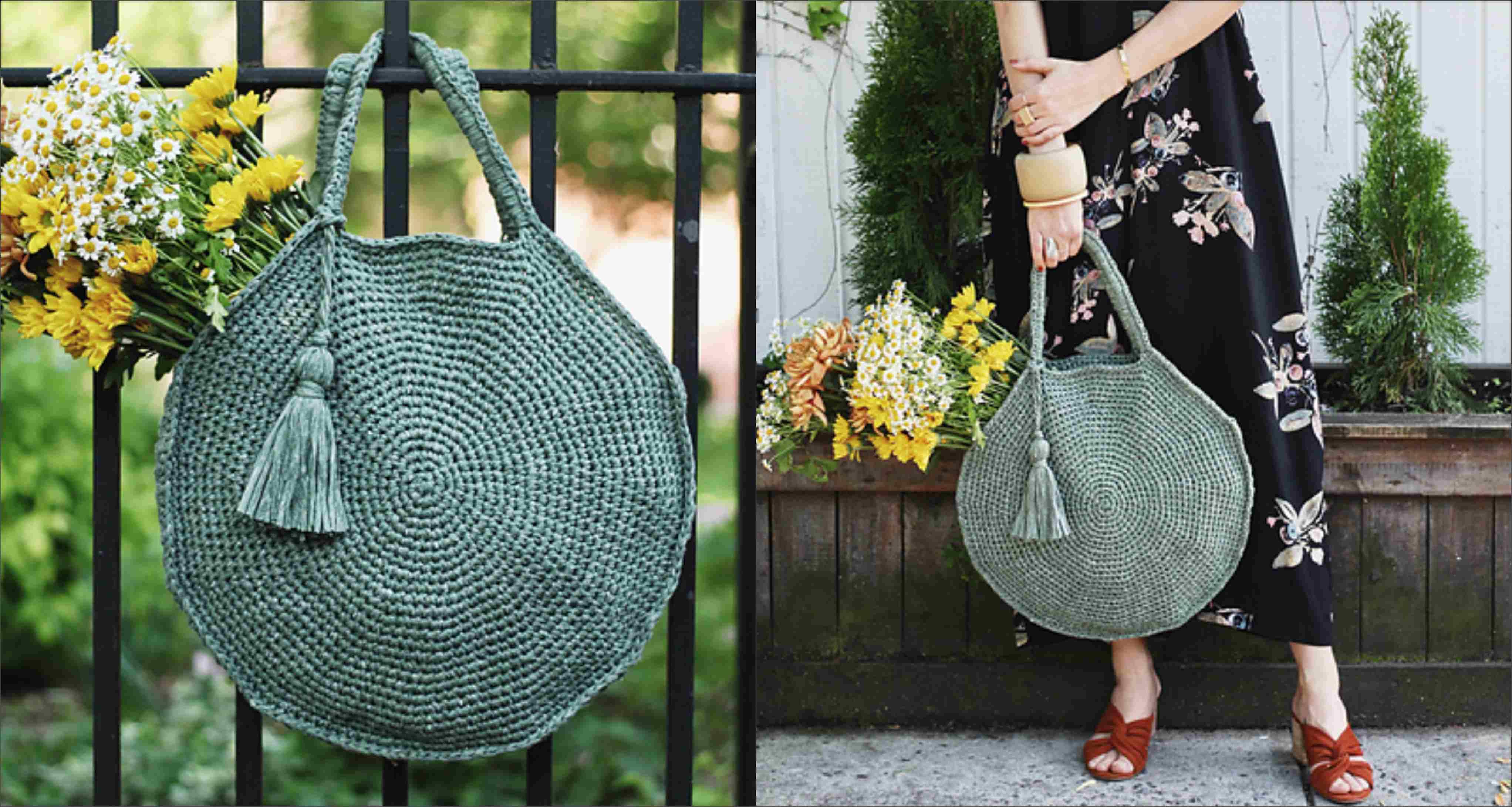 Crochet Capri Circle Bag 3fa11fb21913b