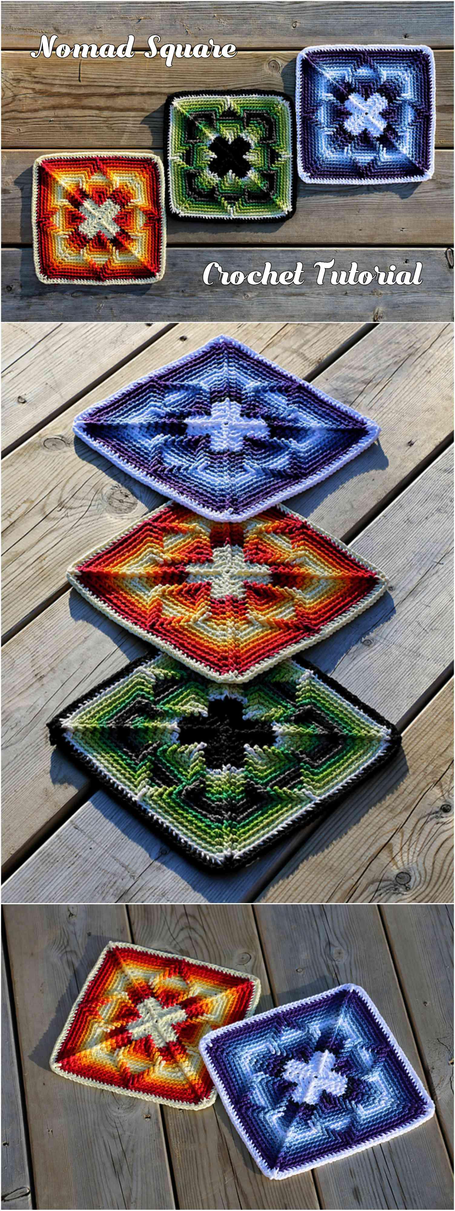 Crochet Nomad Square Pretty Ideas
