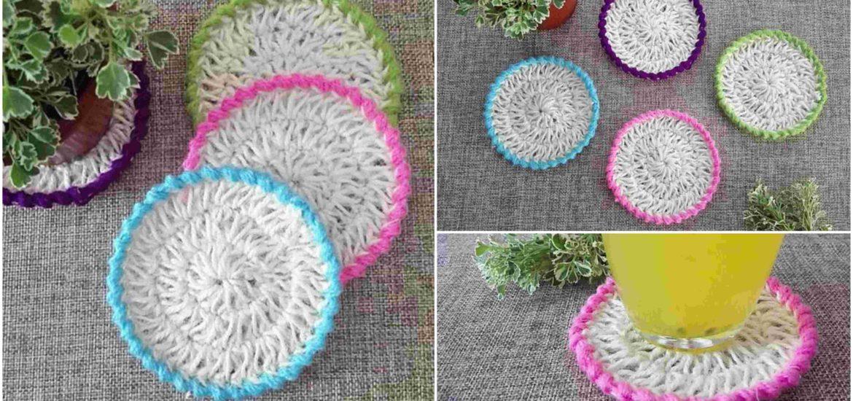 Jute Hemp Coasters Pretty Ideas