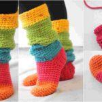 Slouchy Slipper Socks