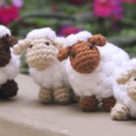 Crochet Puff Sheep
