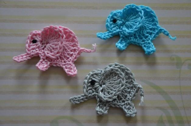 emzlong40's Elmer the colourful hexagon elephant - Ravelry | 416x628