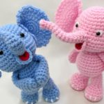 Crochet Cute Elephant