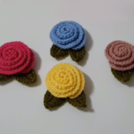 Crochet Easy Rose