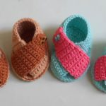 Crochet Baby Stylish Shoes