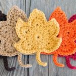 Crochet Fall Maple Leaves