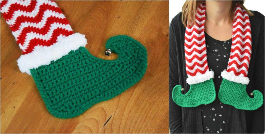 Crochet Jingle Bells Elf Scarf Pretty Ideas