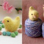Knit Spring Chicks
