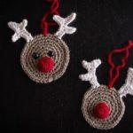Crochet Reindeer Ornament