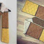 Crochet Beekeepers Scarf
