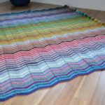 Chevron Rainbow Blanket