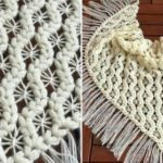 Crochet Puff Spider Shawl