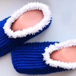 Crochet Warm Slippers