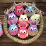 Crochet Cute Owls