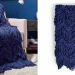 Bobble and Fringe Blanket