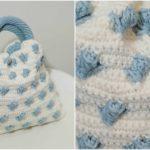 Crochet Damascus Handbag