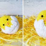 Crochet Easter Baby Chicks