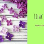 Crochet Lilac Flower