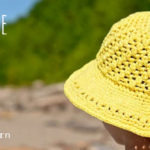 Crochet Lemonade Sunhat