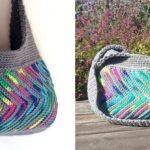 Crochet Chevron Purse