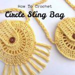 Crochet Circle Sling Bag