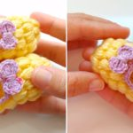 Crochet Baby Puff Slippers