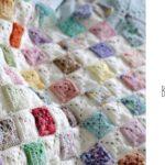 Crochet Battenberg Blanket