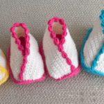 Crochet Kimono Booties