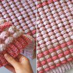 Crochet Candy Blanket