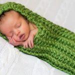 Crochet Bean Baby Cocoon