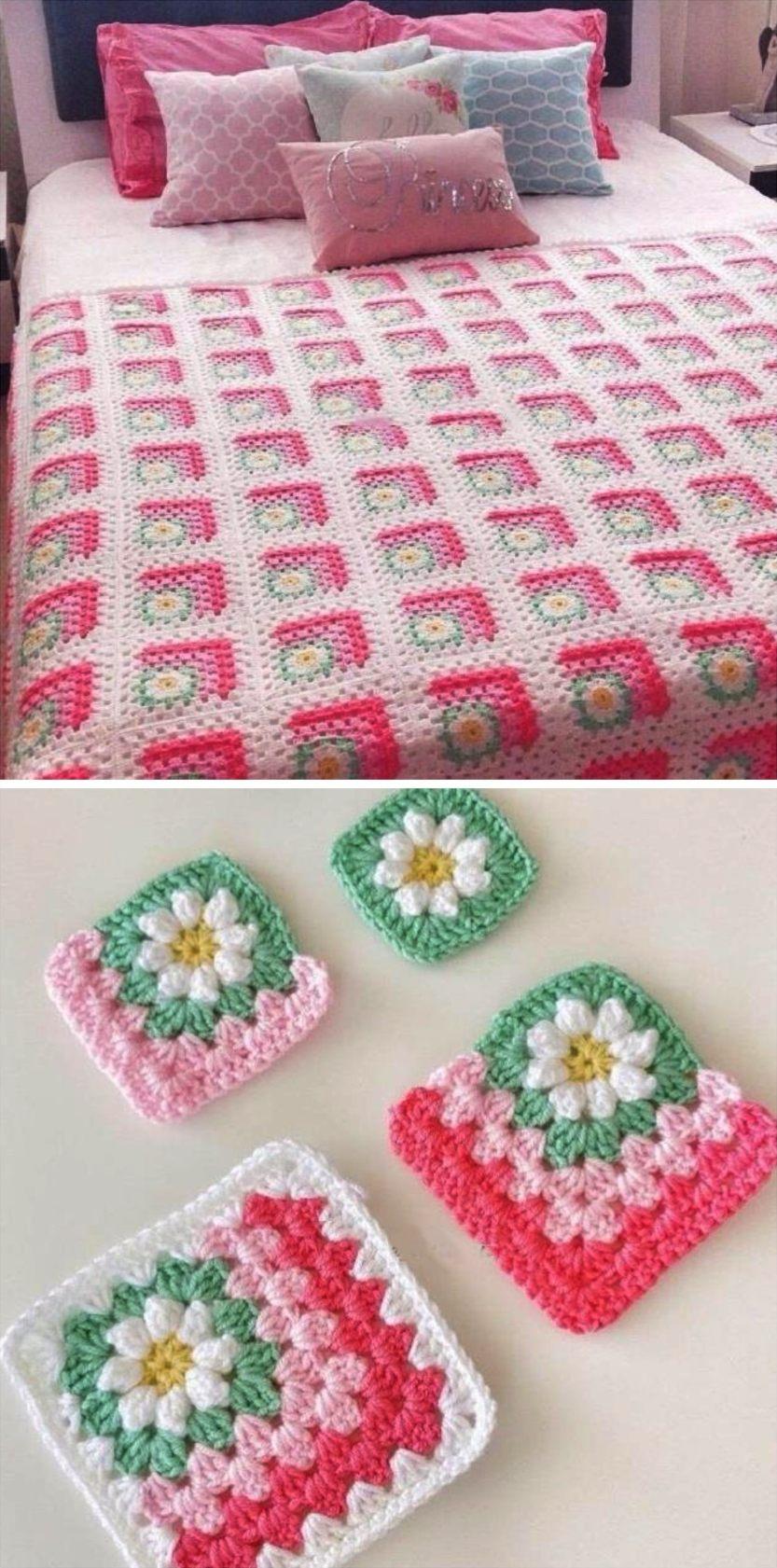 Daisy blanket P