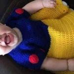 Crochet Snow White's Dress