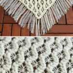 Crochet Puff Spiders Shawl