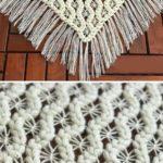 Crochet Puff Spiders Shawl