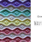 Crochet Wavy Baby Blanket