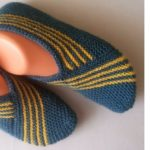 Knit Slippers With Skewers