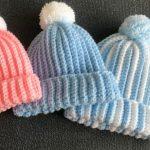Crochet Easy Pom Pom Hat