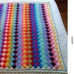 Crochet Entrelac Blanket