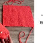 Knit Easy Square Slippers