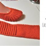 Knit Easy Elastic Slippers